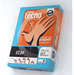 Inapa Tecno Multifunktionspapier star 013908010001 DIN A4 500 Bl.