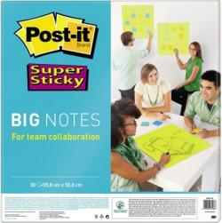 Post-it Haftnotiz Super Sticky BN22-EU 30Bl 558mmx558mm ngn