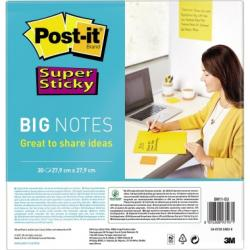 Post-it Haftnotiz Super Sticky  BN11-EU 30Bl 279mmx279mm u.ge