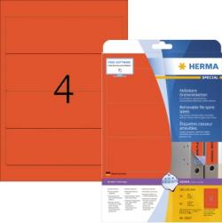 HERMA Ordneretikett Movables 10167 192x61mm sk rot 80 St./Pack.