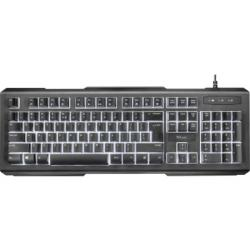 Trust Tastatur LITO 22043 Multimedia LED