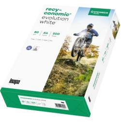 Recyconomic Kopierpapier Evolution White 88054052 DIN A4 500 Bl./Pack.