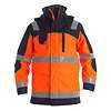 Engel Warnschutz-Parka Shell-Jacke 1000-928-1006 orange/marine EN ISO 20471 Gr.