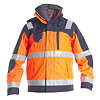Engel Warnschutz-Pilot-Shell-Jacke 1001-928 orange/marine Gr. XXL